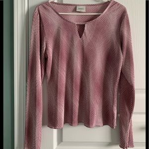 Two-tone pink top from Next